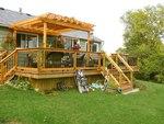 снимка на Проектиране и изработване на дървени перголи по индивидулаен проект