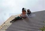 снимка на ремонт на покрив
