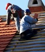 снимка на поправка на покриви