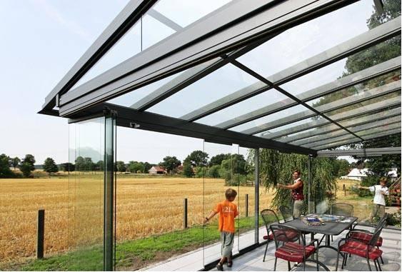 покрив от стъкло