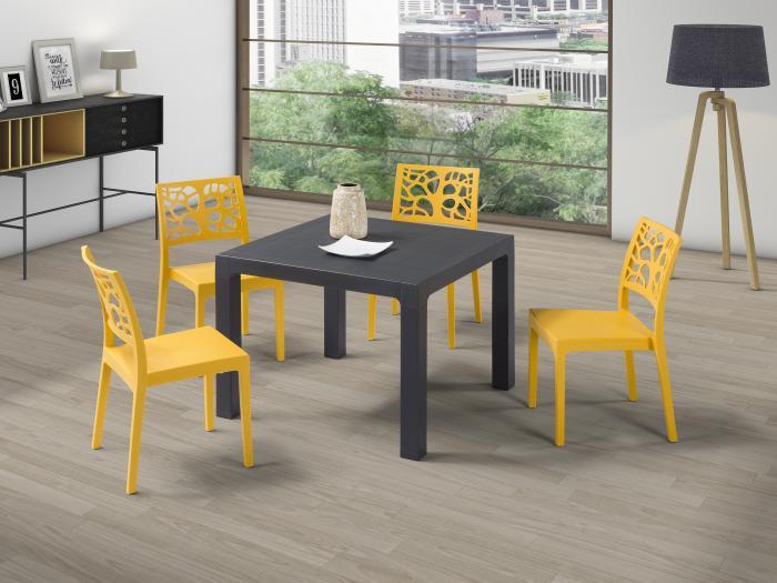 Дизайнерски икономичен стол от полипропилен