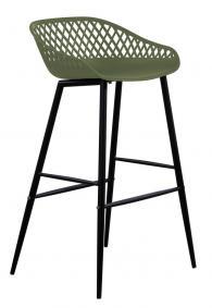 снимка на Дизайнерски бар столове полипропилен
