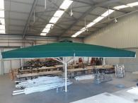 снимка на Поръчков голям алуминиев чадър