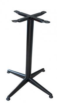 снимка на Прахово боядисана алуминиева стойка за маса