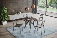 Дизайнерски полипропиленов стол с/без подлакътник