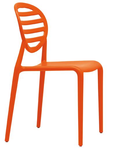 Дизайнерски оранжев стол