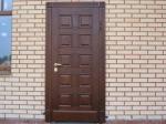 снимка на Метални врати за къщи