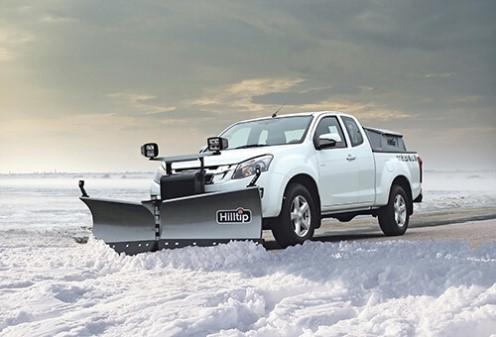 снимка на Vобразни снегорини за пикапи
