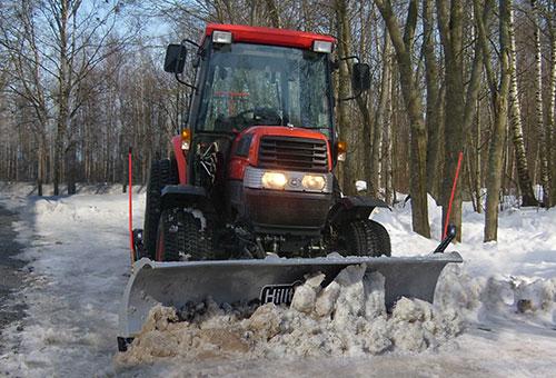 снимка на Прави хидравлични снегорини Hilltip