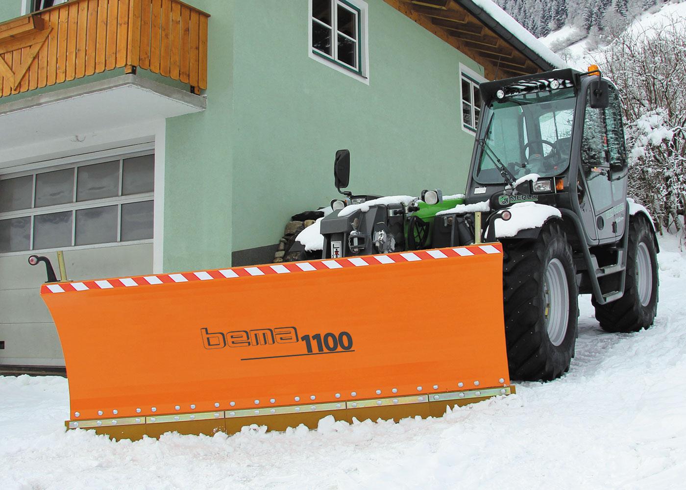 снимка на Прави снегорини BEMA