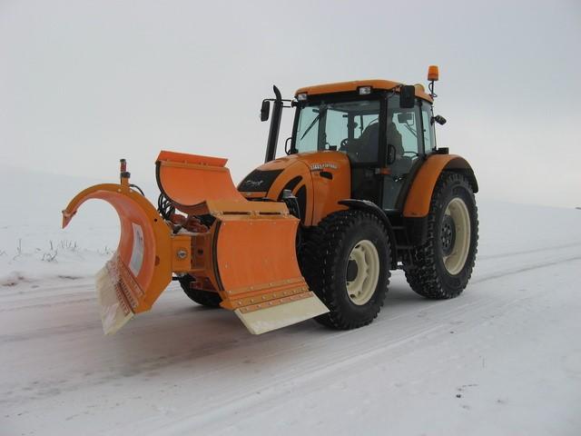 снимка на Хидравлични сгъваеми снегорини MTM Tech