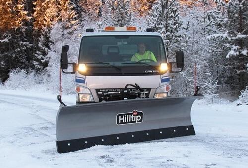 снимка на Прави снегорини за камиони