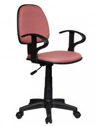 Офис стол Carmen 6012 - пепелено розов