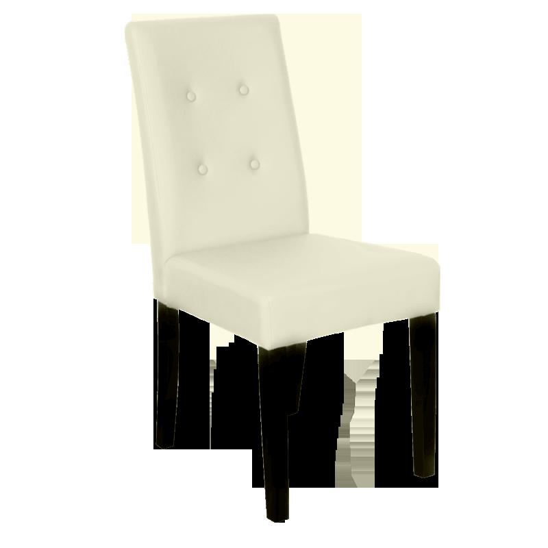 Трапезни столове - Трапезен стол Carmen 6018 - слонова кост