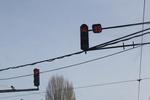 снимка на светофарен обратен брояч