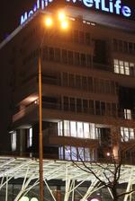 снимка на Метални стълбове за улично осветление по поръчка