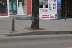 снимка на антипаркинг колчета от чугун