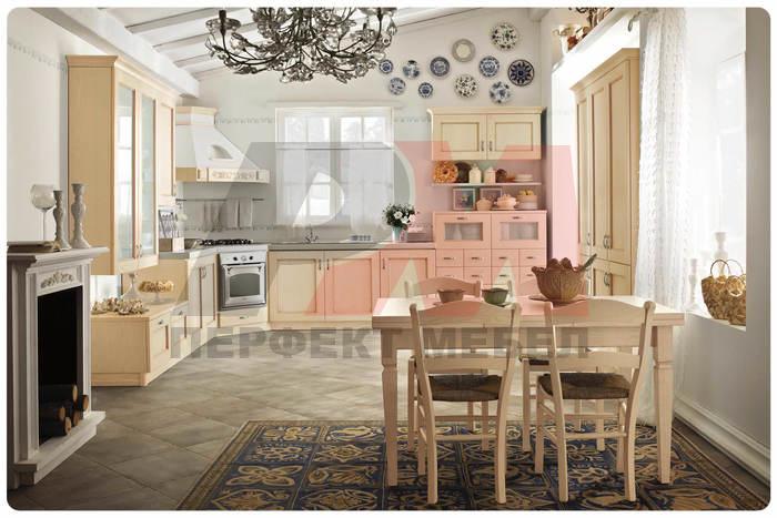 обзавеждане на кухни от фурнир луксозен дизайн София