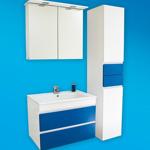 снимка на Мебел за баня – шкаф колона Линеа